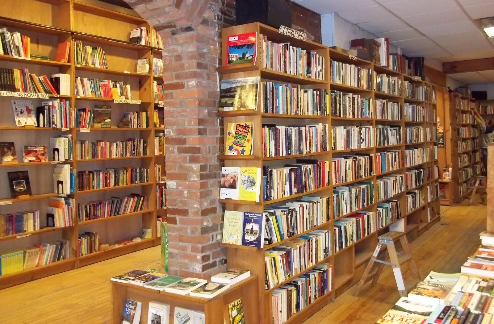 book shop inside