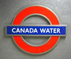 Canada Water Tube Station London