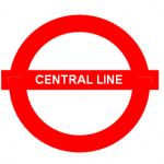 Central Tube Line in London