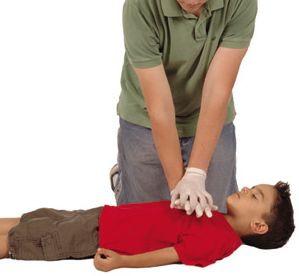 cpr on a child