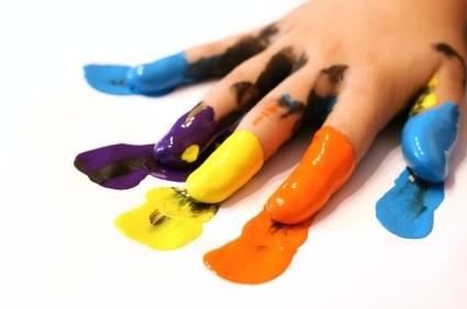 Making Finger Paint