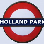 Holland Park Tube Station London
