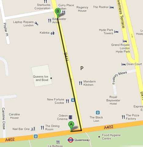 how to get to queensway market london