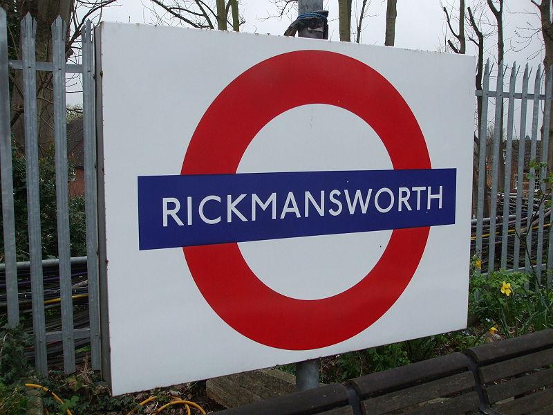 Rickmansworth station logo