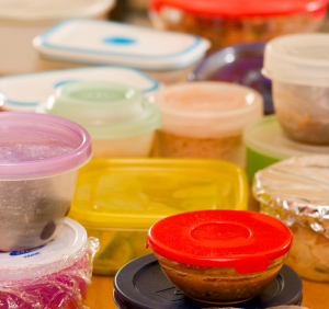 Removing Smells from Plastic Food Containers
