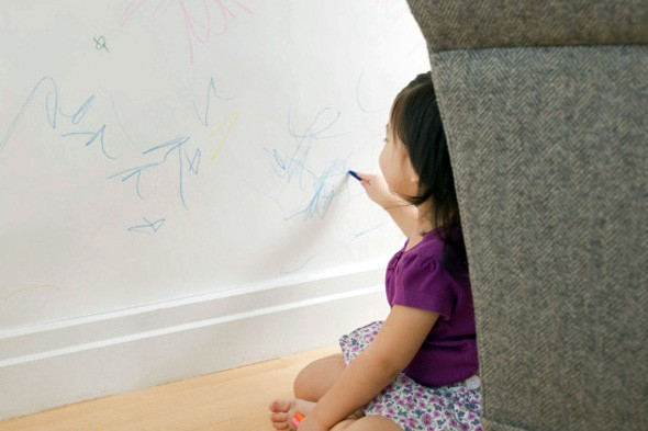 Removing Crayon from Your Walls