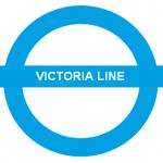 victoria line london underground logo