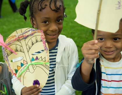 Activities on Black History Month Event in London
