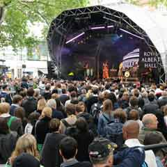 Activities on West End Live Music Event