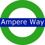 Ampere Way Tram Stop London