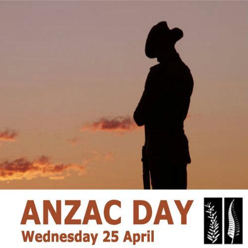 Celebrating ANZAC Day