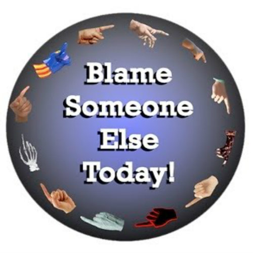 Celebrating Blame Somebody Else Day