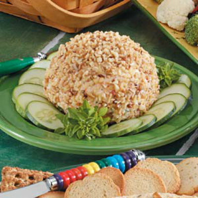 Celebrating National Cheese Ball Day