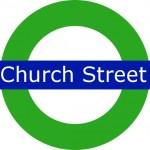 Church Street Tram Stop in London