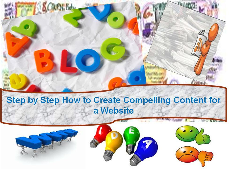 How to Create Compelling Content for a Website