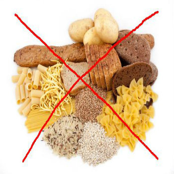 Cut down Carbohydrates