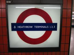 Heathrow Terminals 1, 2, 3 Tube Station London