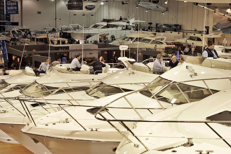 London Boat Show activities