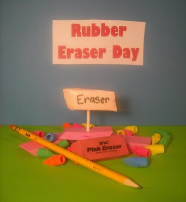 How to Celebrate Rubber Eraser Day