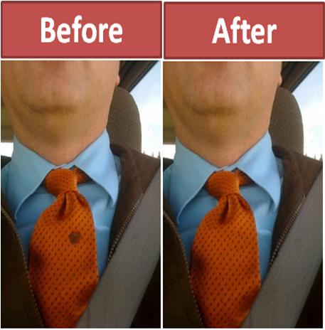 Remove Stains from ties