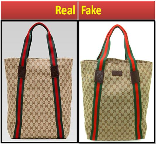 Fake vs. Real Gucci Bag