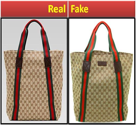 Fake vs. Real Gucci Bag