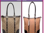 Real vs. Fake Gucci Handbags