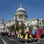 St George's Day Celebrations in London