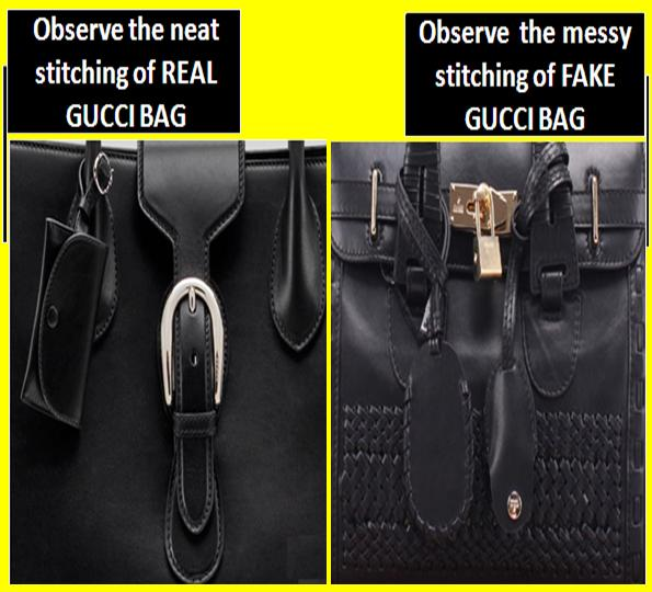 How To Spot Fake Gucci Bags