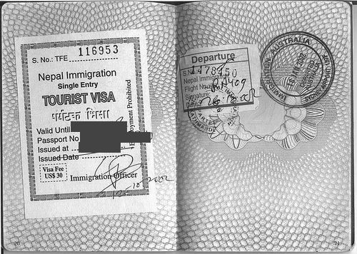 Nepal Tourist Visit Visa Requirements in Dubai