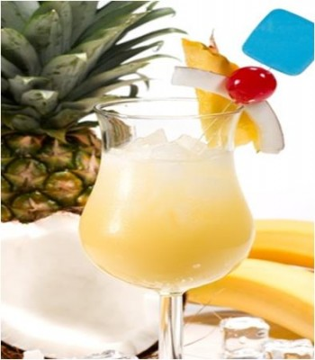 Vodka Pina Colada Cocktail