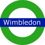 Wimbledon Tram Stop in London