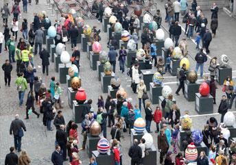 activites at big egg hunt event