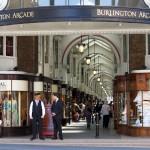 Burlington Arcade Shopping Street London
