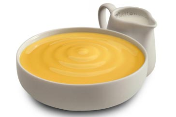 Recipe for making Custard on a Stove
