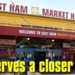 East Ham Market Hall London