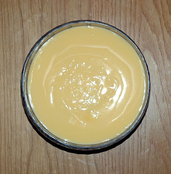 Making Custard in the Microwave