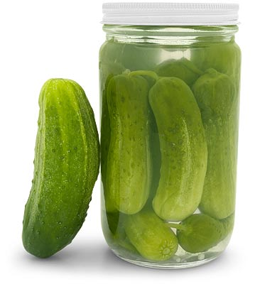 how to make dill pickles from cucumbers