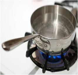 Pan on Fire