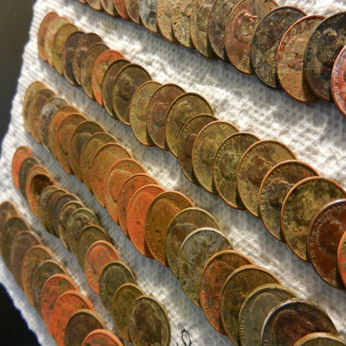 Cleaning Copper Coins