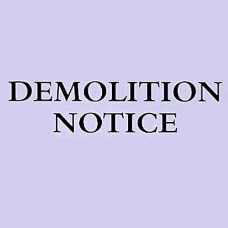 Guide about Demolition Notice Application In London