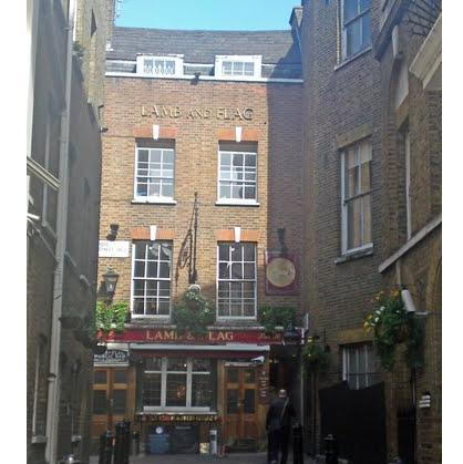 Guide about Fullers Lamb and Flag Bar London