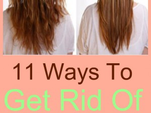 Get Rid of Frizzy Hair at Home