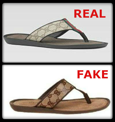 415d3ff22414b How to Spot Fake Gucci Sandals