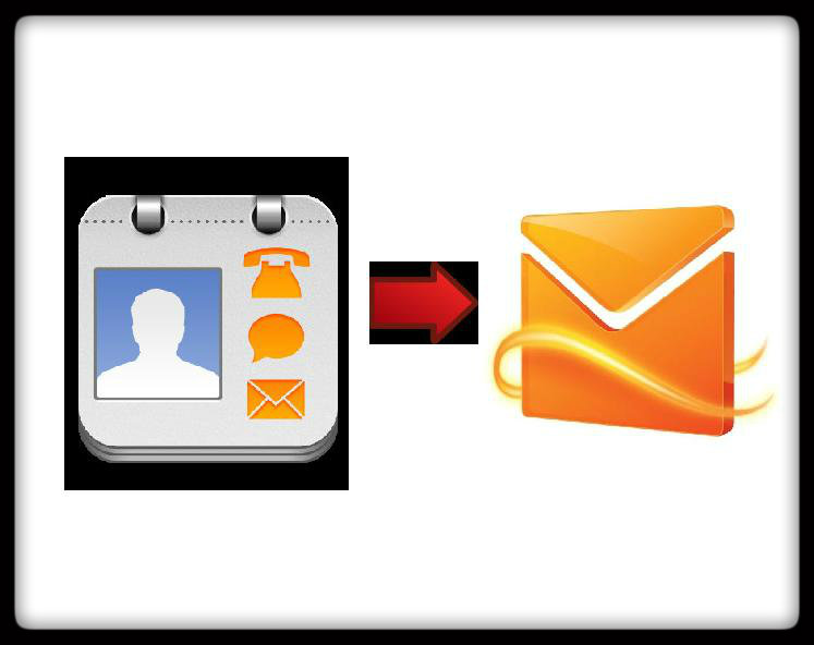 Manage Address Book in Hotmail