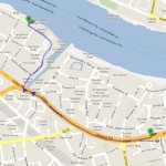 How to get to Cantina Del Ponte, London