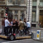 London pedal powered wine tasting tours