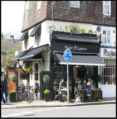 Maison St Cassien Cafe London