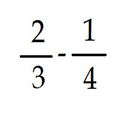 How to Add and Subtract Fractions with Different Denominators