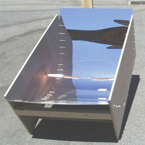 The Solar Hot Dog Cooker